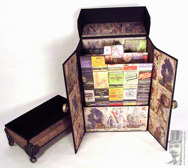 The Gentleman Crafter: Mama Nell's Greeting Card Organizer