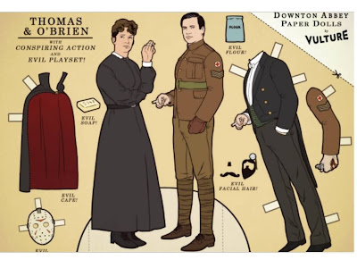 Downton Abben paper dolls