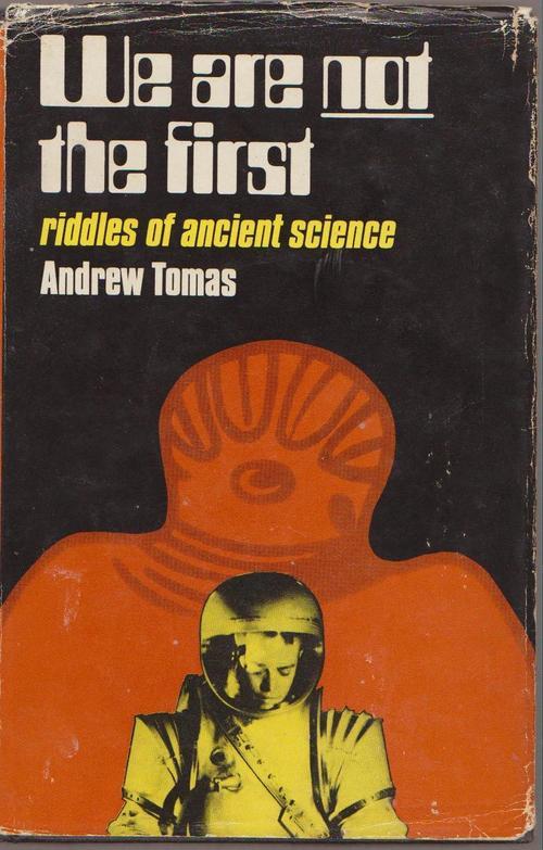 """Portada """"hardcover"""" para la edición original de 1971 de """"No Somos los Primeros"""" de Andrew Tomas"""