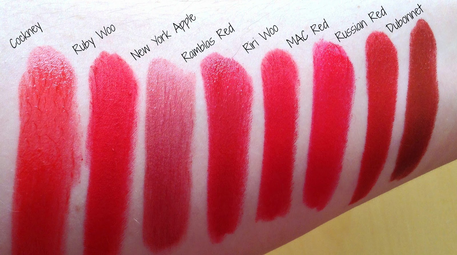 MAC Red Lipstick Picks