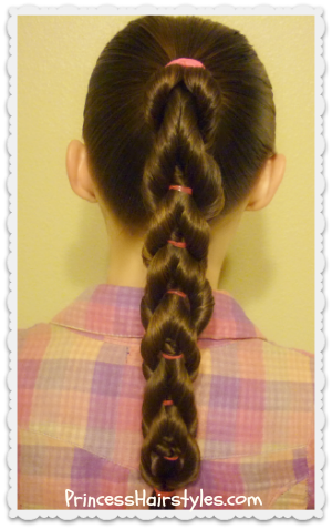 Twisted pull through braid hairstyle hairstyles for girls twisted pull through braid tutorial cute variation of the original braid ccuart Gallery