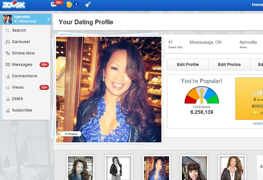 Why attraction matters online dating profiles