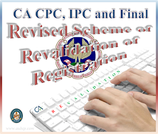 Revalidation of Registration for CA Course