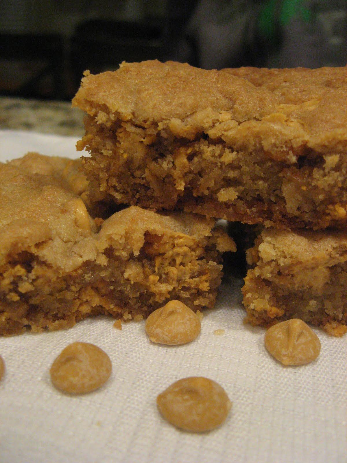 The Baking Bookworm: Butterscotch Blondies