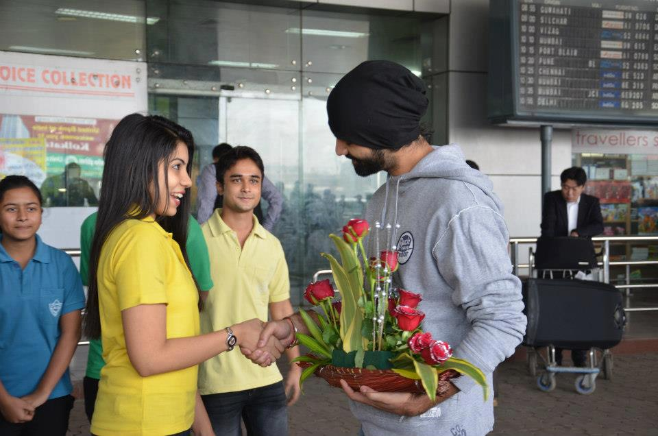 Barun Sobti At Kolkata Domestic Airport