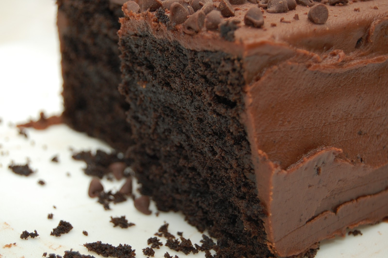 Chocolate Loaf Cake with Fudge Frosting (It's My Birthday, I Can Bake ...