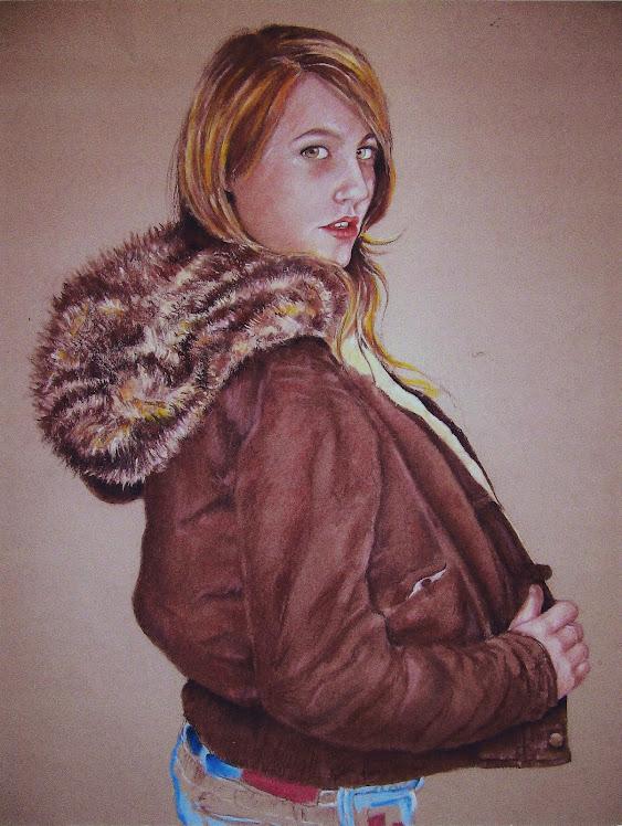 Retratos Ariadna cazadora
