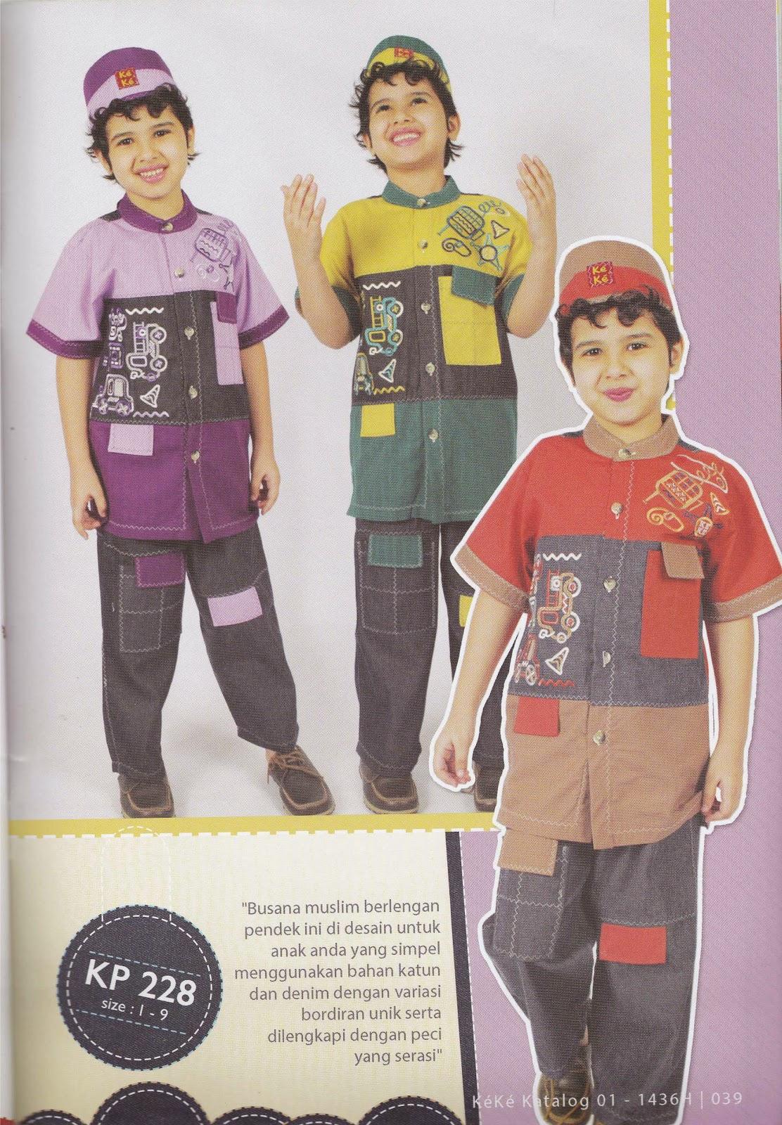 KP 228 Baju Muslim Anak