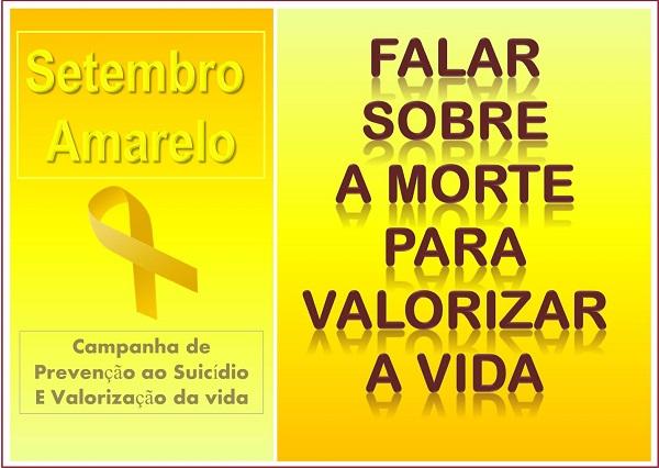 Setembro Amarelo - Campanha de Prevenção ao Suicídio