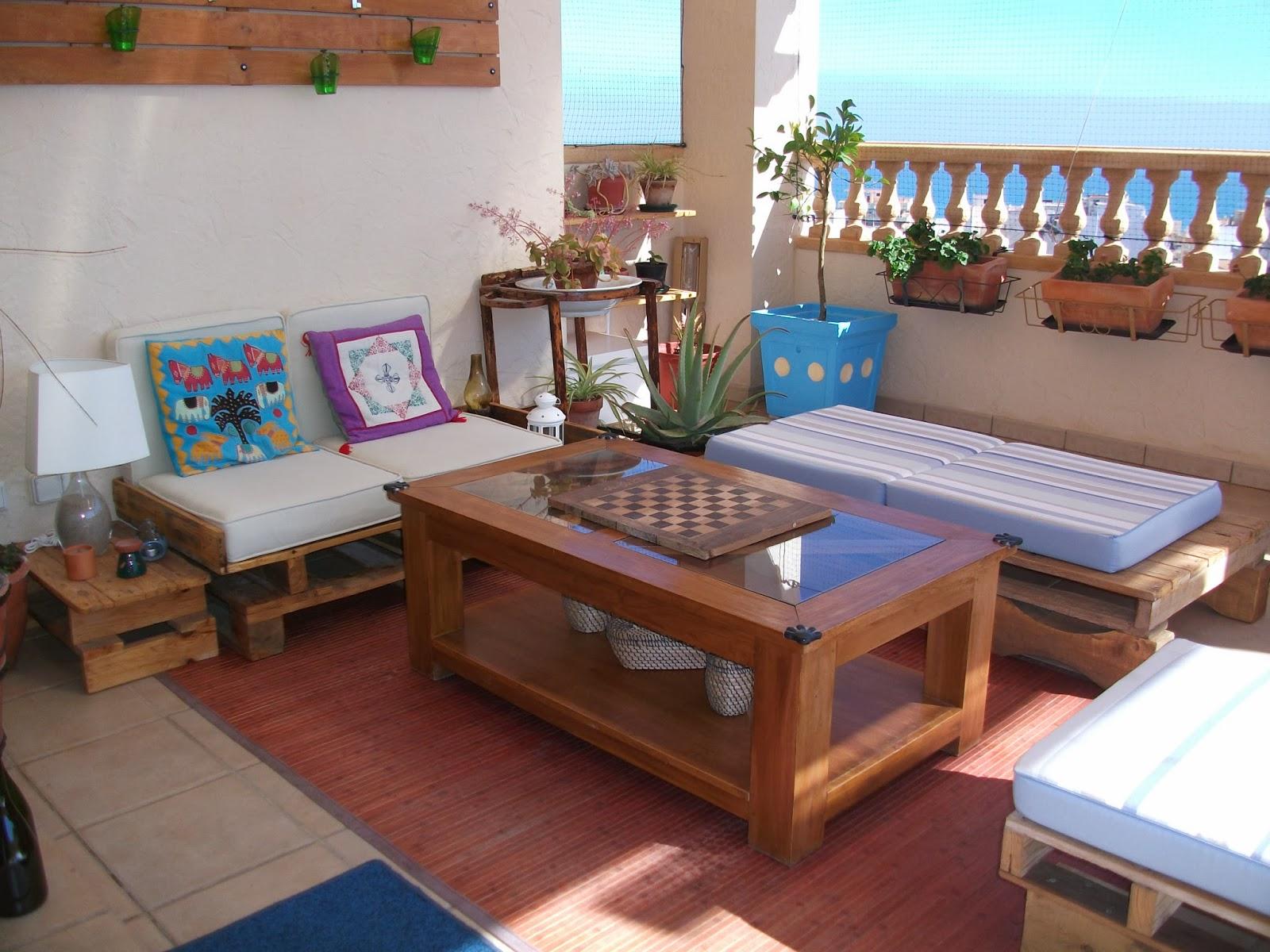 Decodeliziosa la terraza de ana y jose creaci n y for Decorar terrazas barato