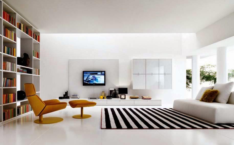 Ruang keluarga minimalis 4