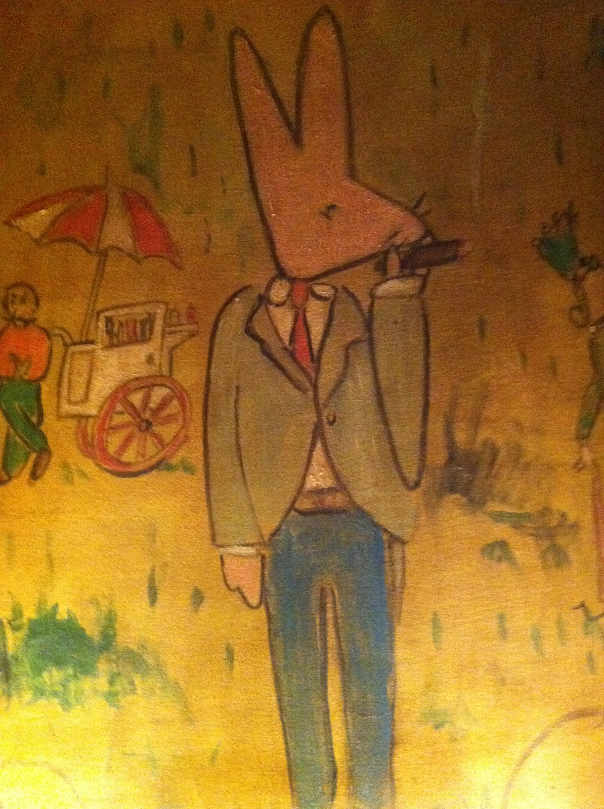 Catbird blog what we love today old glamour mixed with new for Bemelmans bar mural