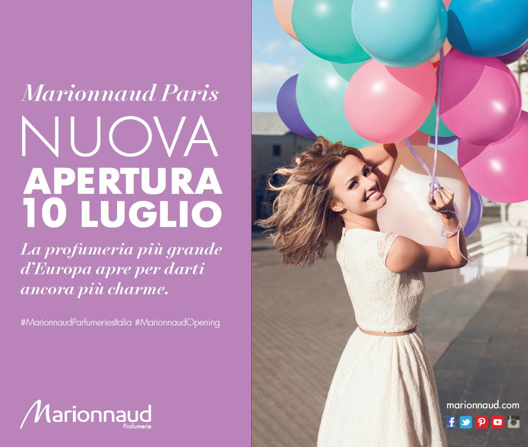 nuovo punto vendita lombardo per marionnaud, inaugurazione a san rocco al porto