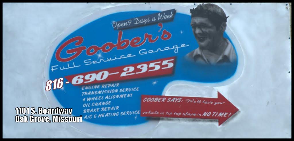Goober's Full Service Garatge