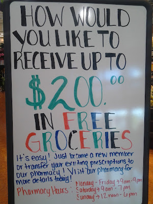 Harris Teeter Pharmacy Offer