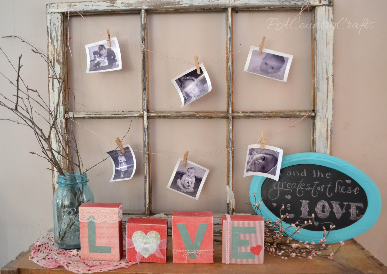 Valentine S Day Home Decor PA Country Crafts