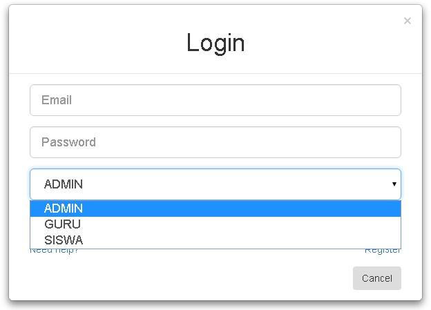 Cara Membuat Login Multi User dengan PHP, MySQL dan