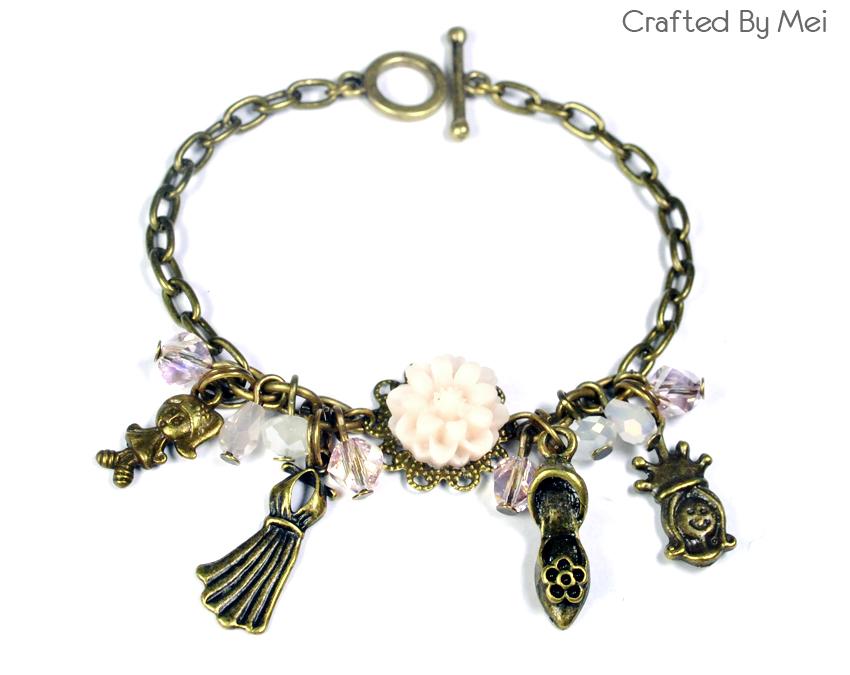 crafted by mei malaysia charm bracelet custom made
