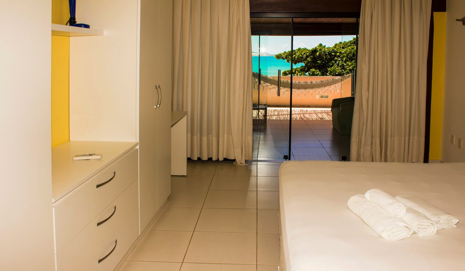 COCO BEACH SUITE MASTER DA CAMA VISTA MAR