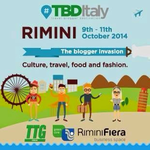 Excited to be one of the Top 100 Travel Bloggers invited to attend TTG in Rimini, Italy