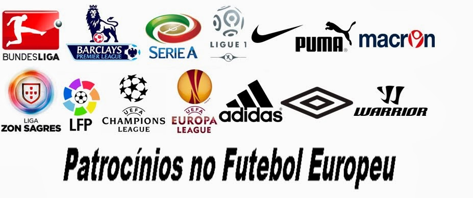 Patrocínios no Futebol Europeu