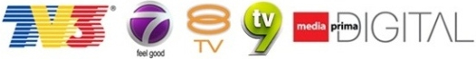 Live Streaming TV3, 8TV, NTV7, TV9