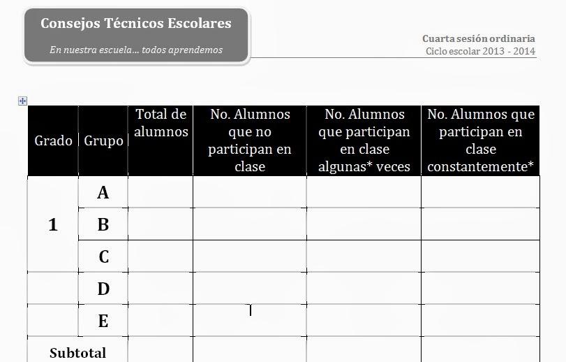 TELESECUNDARIAS ZONA 12 POZA RICA SUR: enero 2014