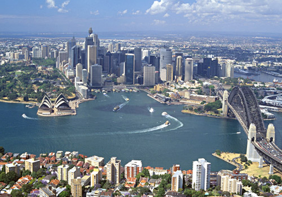 Australia-Sydney Skyline