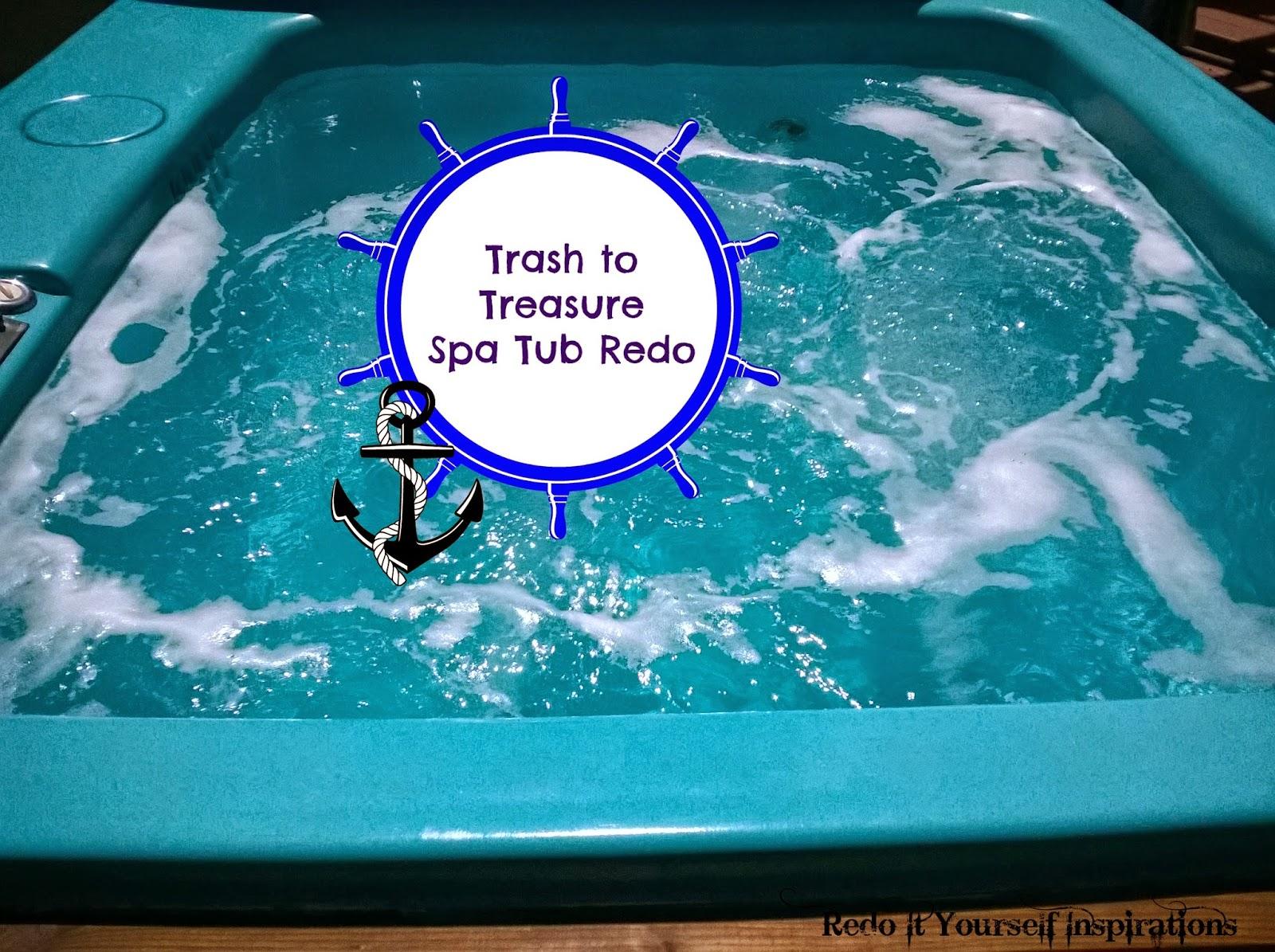 Spa Tub Redo | Redo It Yourself Inspirations : Spa Tub Redo