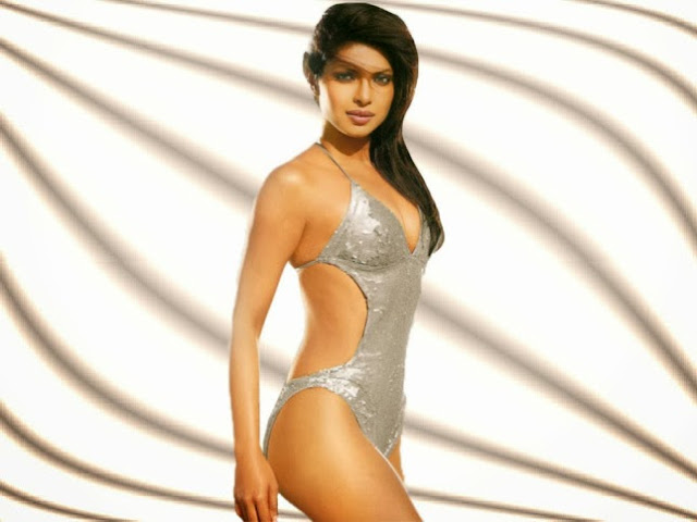Priyanka Chopra Hot sexy bikini panty underware wet big cleavage HD wallpaper image pics