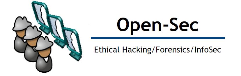Open-Sec -Seguridad y Contraseguridad Informática