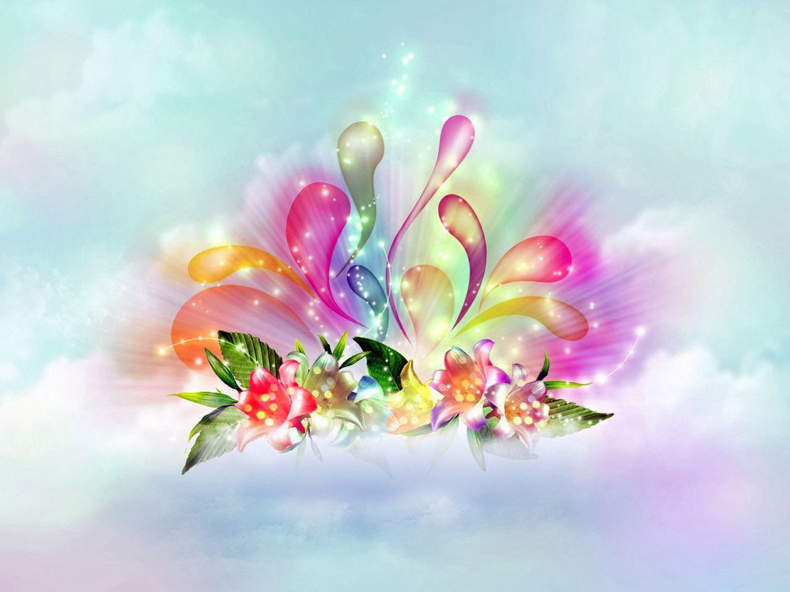 3D Flowers Wallpapers - totalinfo90