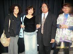 Con Blanca Segura , José Beltrán y una miga