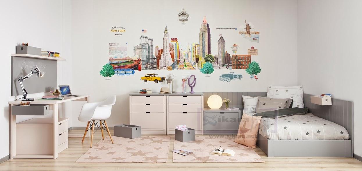 Dormitorios juveniles grises - El mueble habitaciones juveniles ...