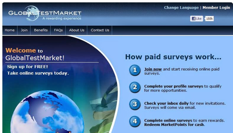 Work From Home Using Global Test Market