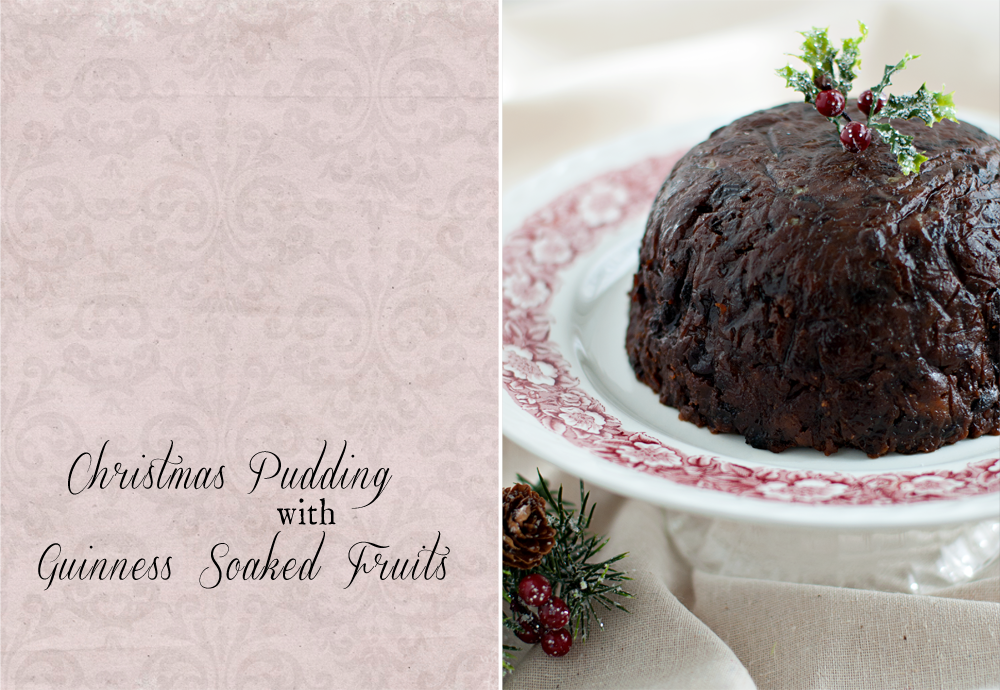 close up of a christmas pudding