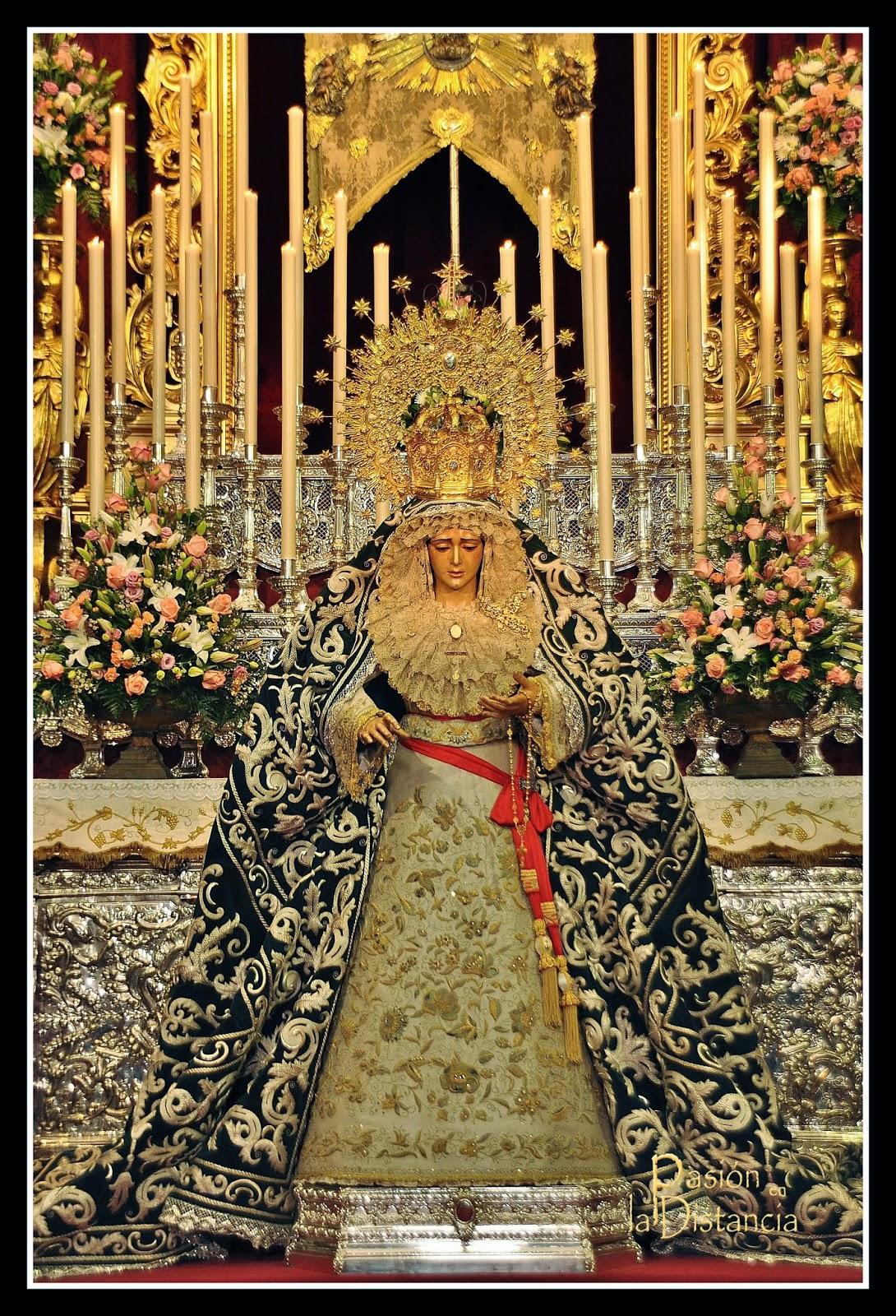 Virgen de la Candelaria Sevilla Besamanos