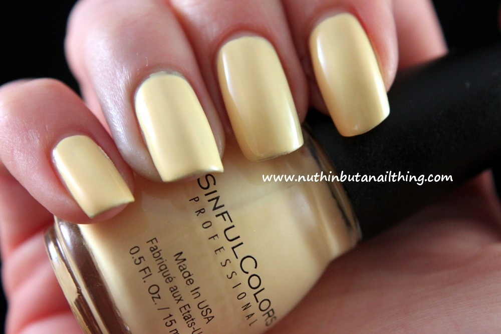 Nuthin But A Nail Thing Sinful Colors Swatches Unicorn Soul Mate