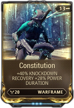 Warframe how to get Constitution Mod - YouTube