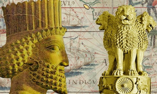 Samraat Ashoka and Emblem of India