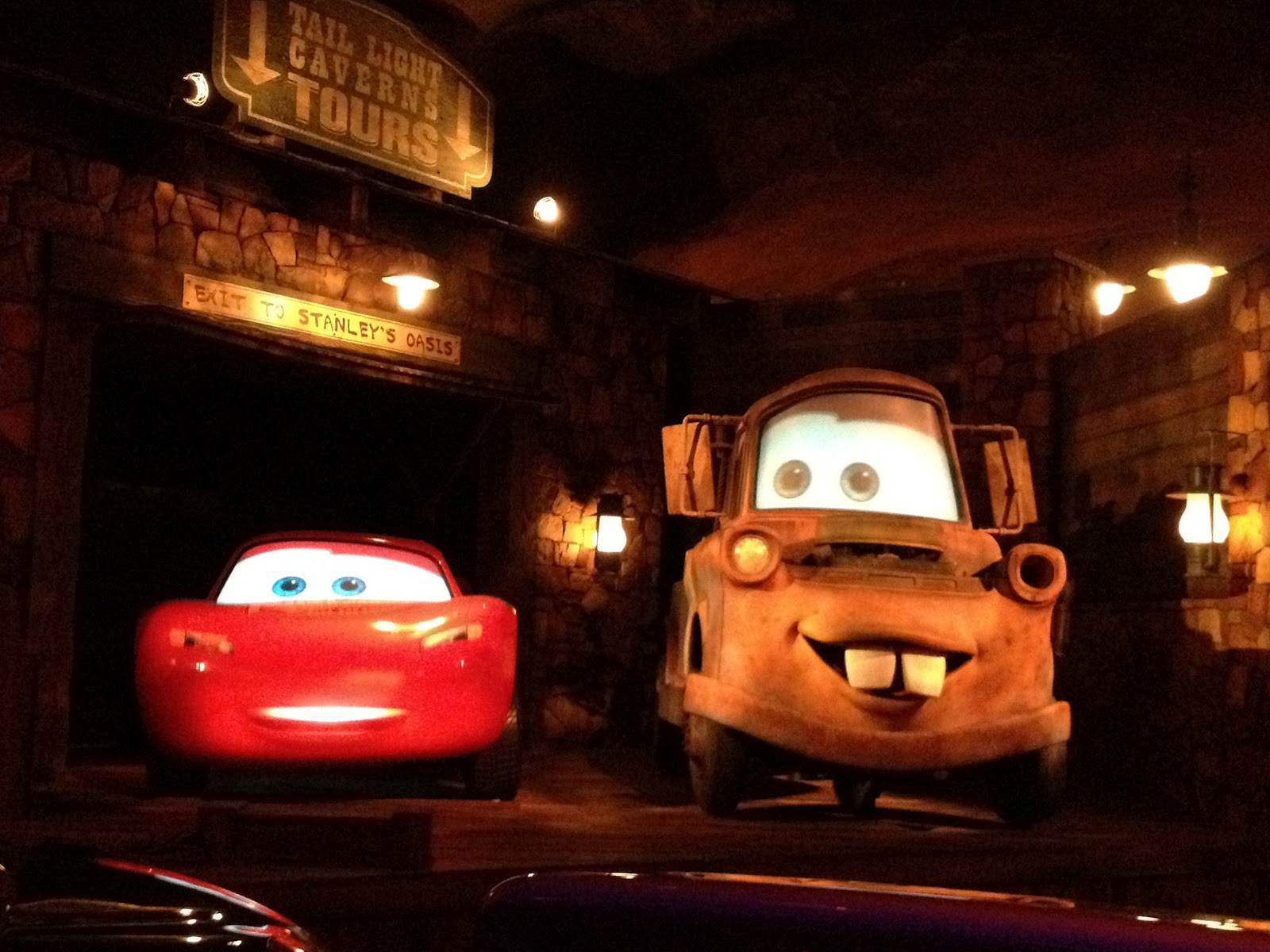 McQueen and Mater welcome you to the Bandwagon