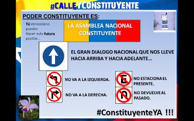 #PoderConstituyente EL GRAN DIALOGO NACIONAL QUE NOS LLEVE HACIA ARRIBA Y HACIA ADELANTE