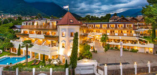 Wellness Hotel Gnaid in Dorf Tirol in Südtirol