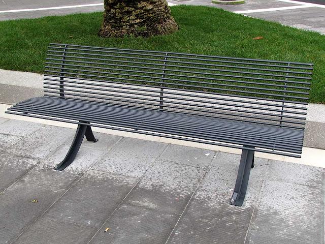 Bench, Town Hall square, Livorno