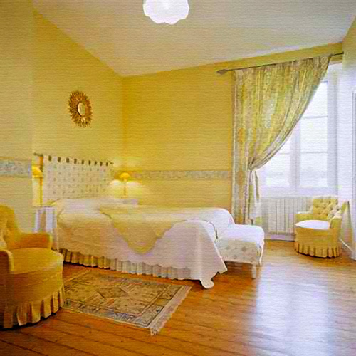 22 beautiful yellow themed small bedroom designs