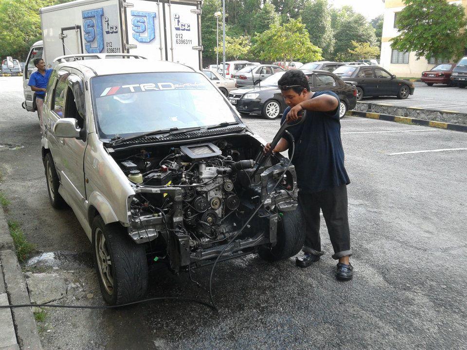 perodua kembara daihatsu terios workshop perodua kembara convert to k3vet dvvt turbo