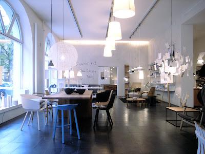 Porzellan senf und prosecco skandinavische moderne for Klassische skandinavische mobel