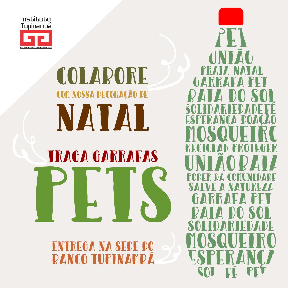 Doação de Garrafas Pets