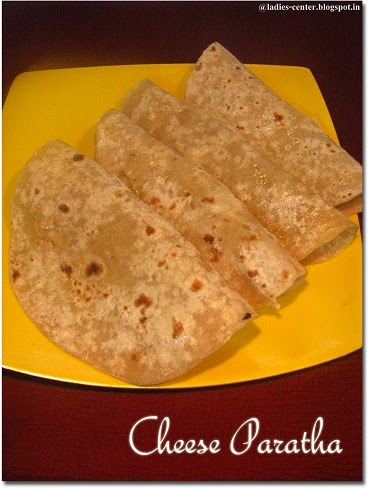 Cheese Paratha Recipe