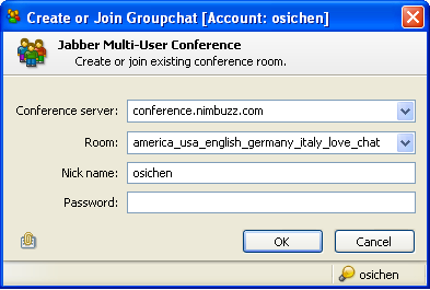 how to create nimbuzz account with example